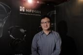 Dr. Fang Bian of HiFiMAN Electronics.