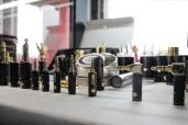 Ranko Acoustics' myriad connectors.