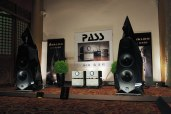 Avalon Acoustics Tesseract and PASS Labs stack.