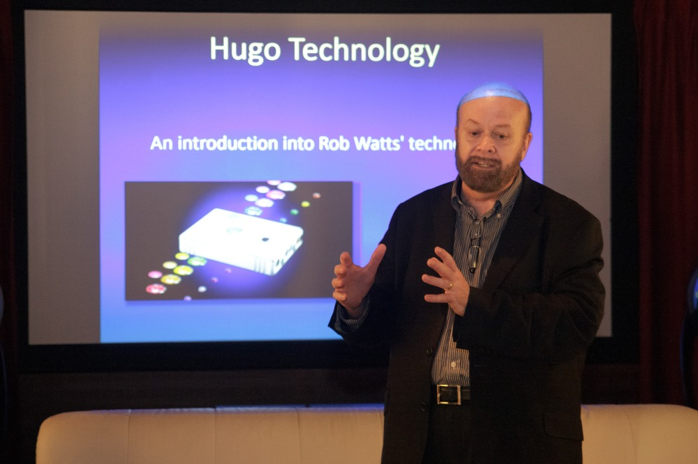 John Franks, founder of CHORD Electronics, introduces the Hugo.