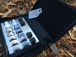 The case, tips holder, and filter set all package elegantly together.