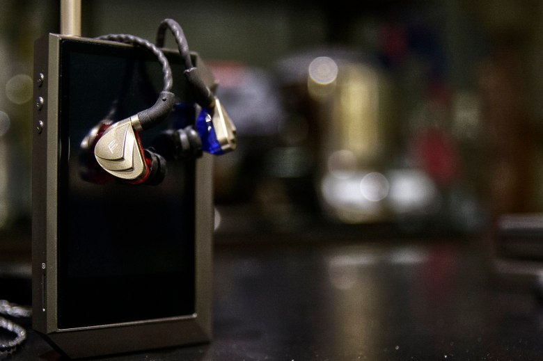 The Fidue A83 paired with an Astell&Kern AK240.