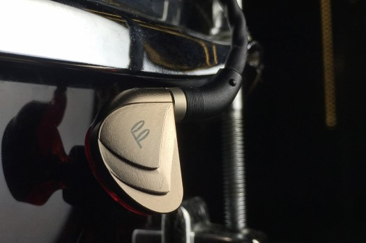 The Fidue A83, a triple-driver hybrid IEM.
