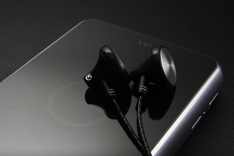 The Companion One, paired with Celsus Sound's Gramo One earbuds.