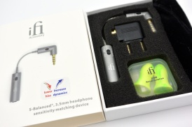 iEMatch packaging and accessories
